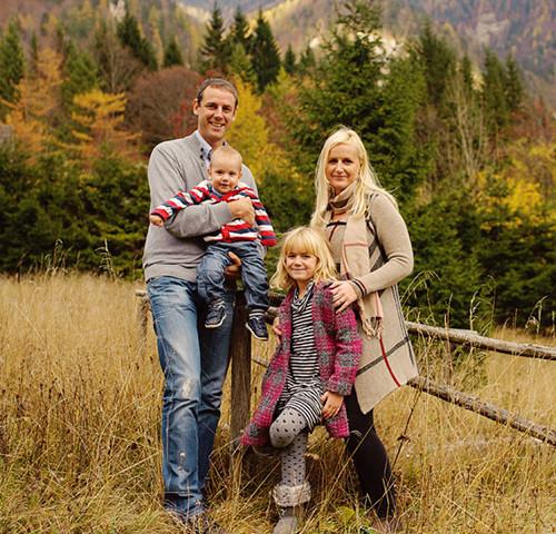 družina P. | Družinsko fotografiranje ~ Ljubelj