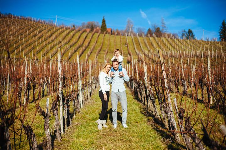 Družinsko fotografiranje v Šentilju