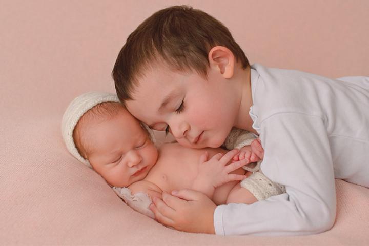 Fotografiranje novorojenčkov z Juretom in Piko ~ Trzin