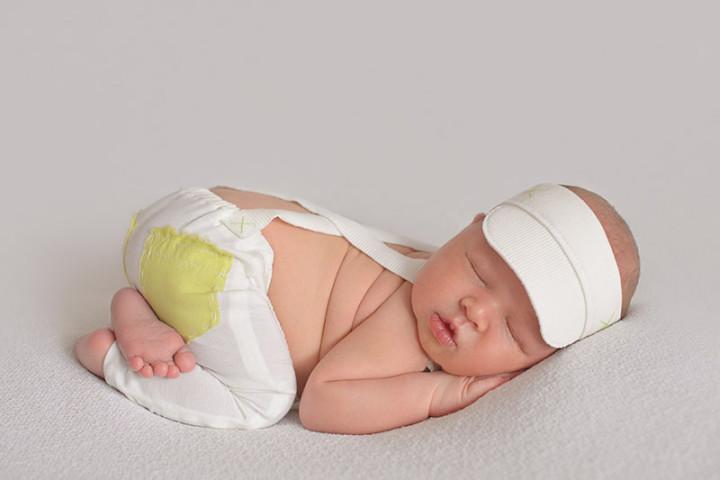 Fotografiranje novorojenčkov z Juretom in Piko ~ Hrastnik
