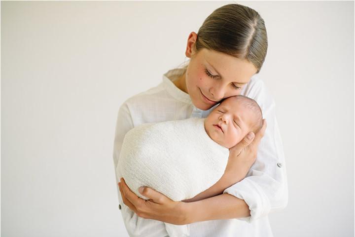 Fotografiranje novorojenčkov z Juretom in Piko ~ Horjul