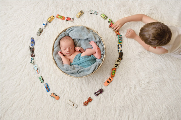 Fotografiranje novorojenčkov z Juretom in Piko ~ Litija