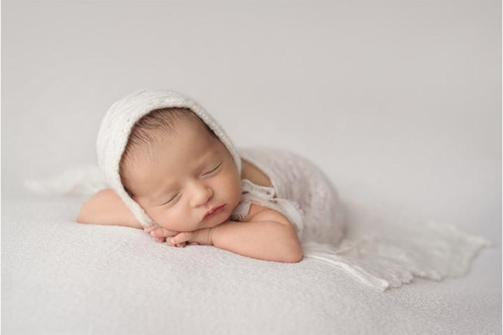 Fotografiranje novorojenčkov z Juretom in Piko ~ Radovljica