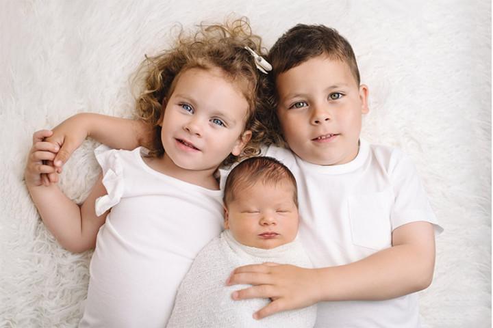 Fotografiranje novorojenčkov z Juretom in Piko ~ Ptuj