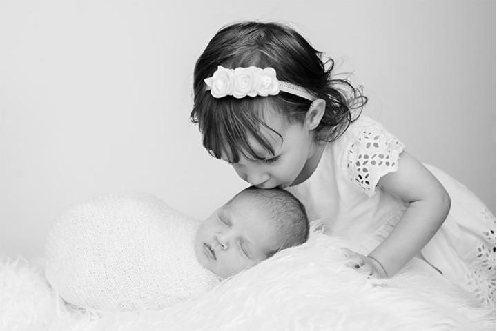 Fotografiranje novorojenčkov z Juretom in Piko ~ Gradec