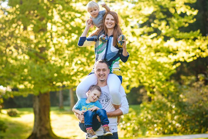 Družinsko fotografiranje z Juretom ~ Brdo pri Kranju