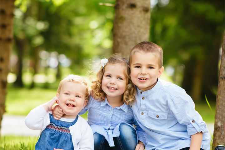 Družinsko fotografiranje z Juretom ~ Šobec