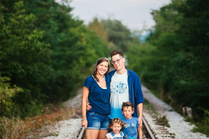 (sl) Družinsko fotografiranje z Juretom ~ Kranj