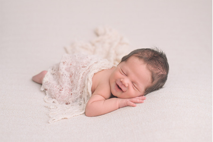 Newborn photography with Jure and Pika ~ STUDIO