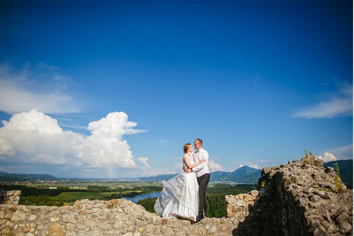 A & J / Fotografiranje poroke ~ Ribnik pri Lesjaku