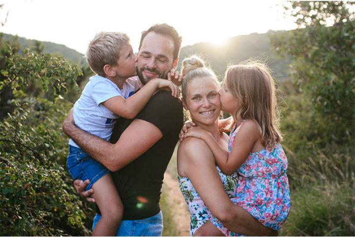 Družinsko fotografiranje ~ Pirčki na Krku