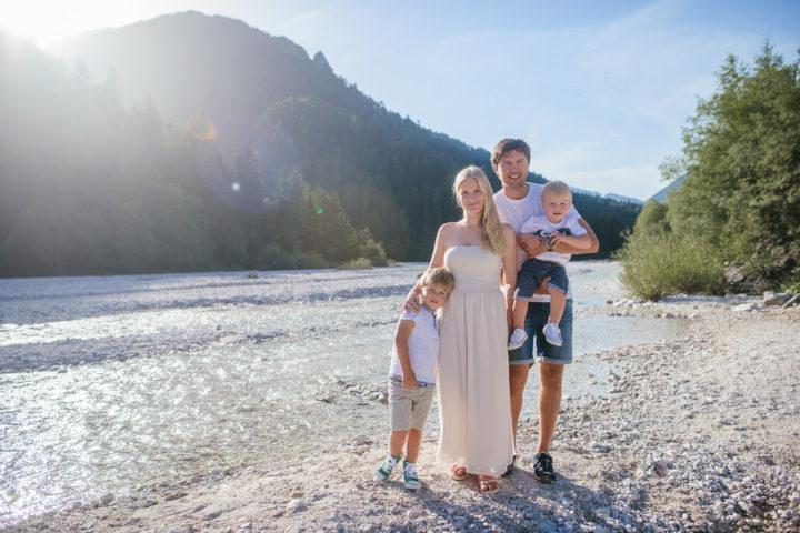 Družinsko fotografiranje v naravi