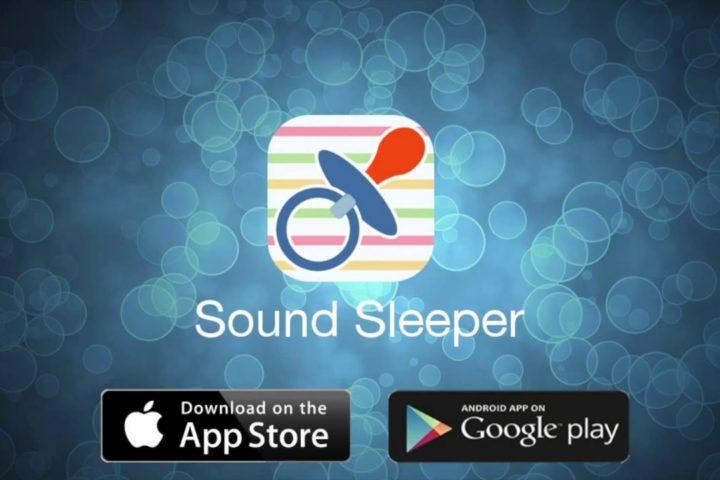 Mobilna aplikacija za pomoč pri spanju ali pomiritvi novorojenčkov